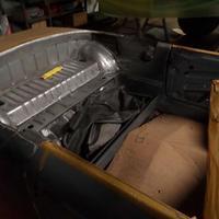 Vorbeiterung zum Umbau auf Cabrio